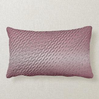 metallic purple texture lumbar pillow