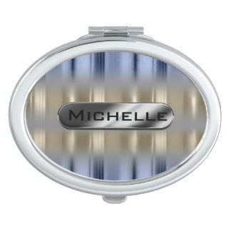 Metallic Reflections and Nameplate ID287 Mirror For Makeup