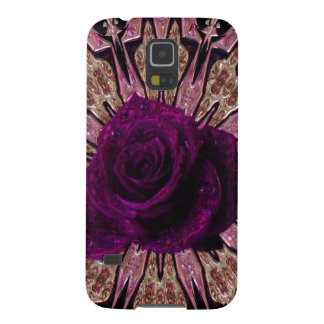 """""""Metallic Rose Abstract""""device/skins/cases"""".* Galaxy S5 Cases"""