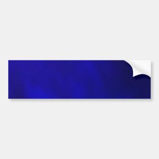 Metallic Royal Blue Bumper Stickers