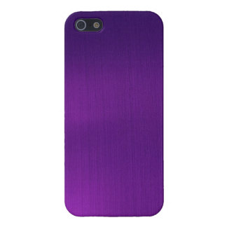 Metallic Royal Purple Cover For iPhone 5/5S