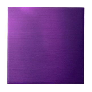 Metallic Royal Purple Tile