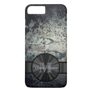 Metallic rusty metal grunge personalized iPhone 8 plus/7 plus case