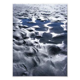 Metallic Sands Art Photo