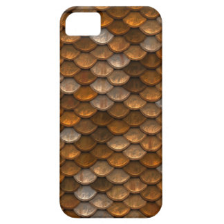Metallic Scales Print Barely There iPhone 5 Case