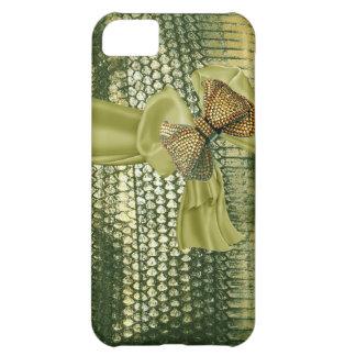 Metallic Snake Skin Rhinestone IPhone 5 Case