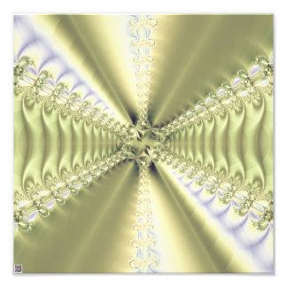 Metallic Star Photo Art