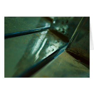 metallic steel abstract reflection design card