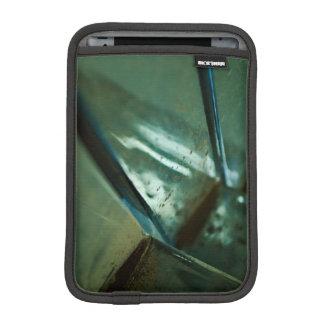 metallic steel abstract reflection design iPad mini sleeve