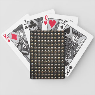 Metallic Studs Pattern Bicycle Playing Cards