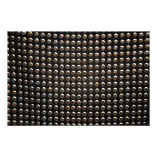 Metallic Studs Pattern Photo Art