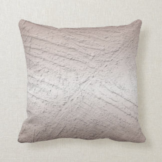 metallic surface texture cushion