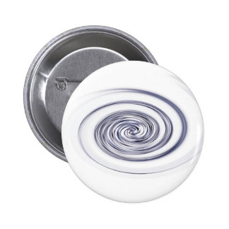 metallic swirl 6 cm round badge
