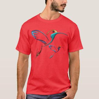 Metallic Tropical Hummingbird T-Shirt