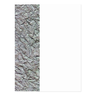 Metallic Wrinkled Paper Texture Post Cards