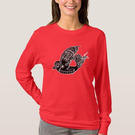 Metallon Bird T-Shirt (patch style)