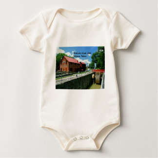 Metamora Indiana Feed Mill Baby Bodysuits
