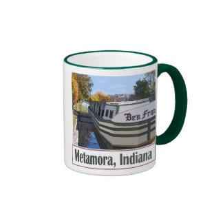 Metamora Indiana Ringer Mug