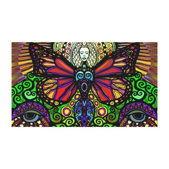 Metanoia (Print on Canvas) by Nathan Jalani Taylor Canvas Print