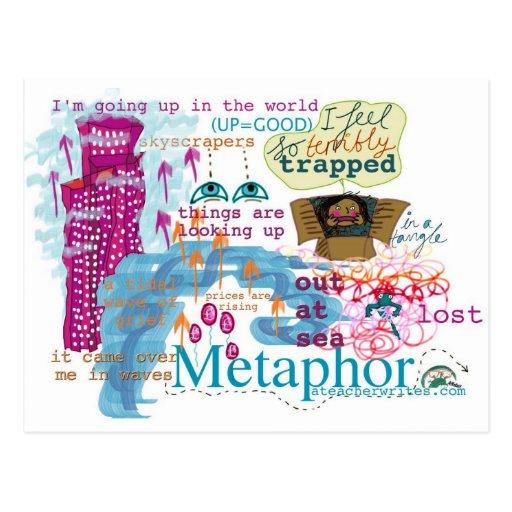 Metaphor Postcard KS2 and KS3