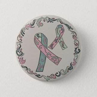 Metastatic Breast Cancer Awareness Ribbons 6 Cm Round Badge