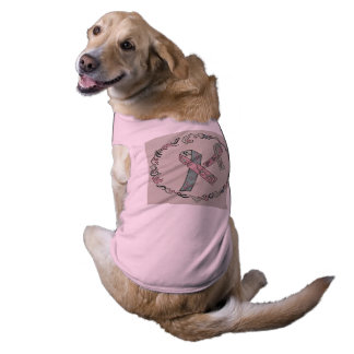 Metastatic Breast Cancer Awareness Sleeveless Dog Shirt