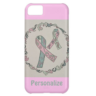 Metastatic Breast Cancer Ribbons iPhone 5C Case