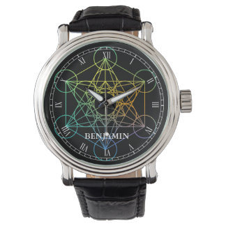 Metatron Cube Sacred Geometry Watch