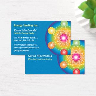 Metatron's Cube Business Card