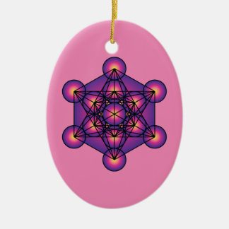 Metatron's Cube Christmas Ornament