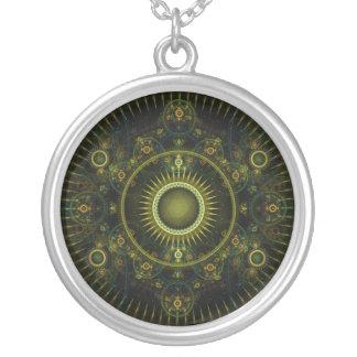 Metatron s Magick Wheel - Fractal Necklace