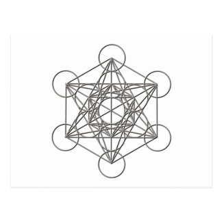 Metatron Silver Shadow Postcard