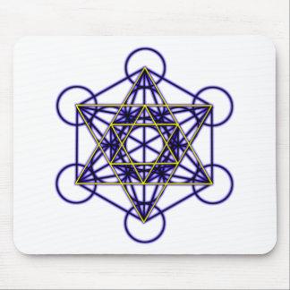 MetatronBlueStar Mouse Pad