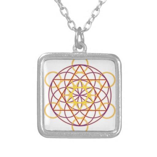 MetatronGlow1 Custom Necklace