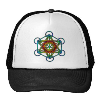 Metatron's Cube (Color 1) Cap