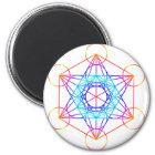 Metatron's Cube (Colour 2) Magnet