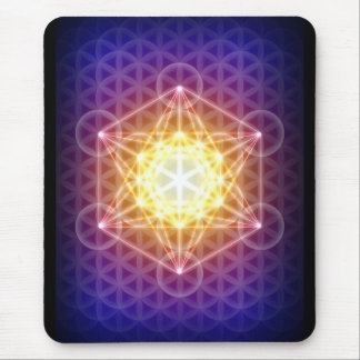 Metatron's Cube/Flower of Life Mousepad