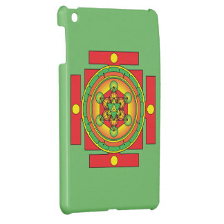 Metatron's Cube Merkaba Mandala Case For The iPad Mini