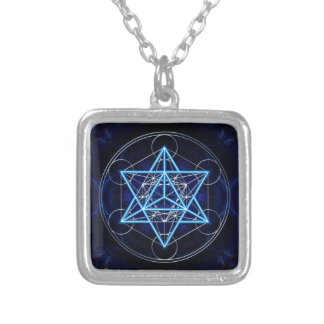 Metatrons cube - Merkaba - star tetrahedron Necklaces