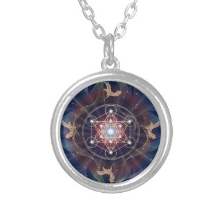 Metatron's Cube - Merkabah - Sacred Geometry Necklace