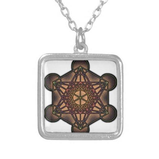 Metatron's Cube - Sacred Geometry Symbol Pendant