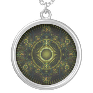 Metatron's Magick Wheel - Fractal Necklace