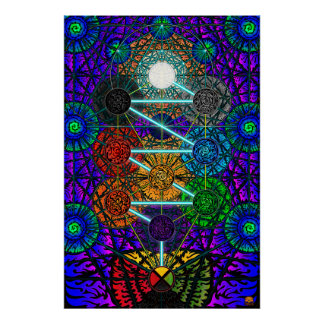 Metatron's Tree of Life Poster