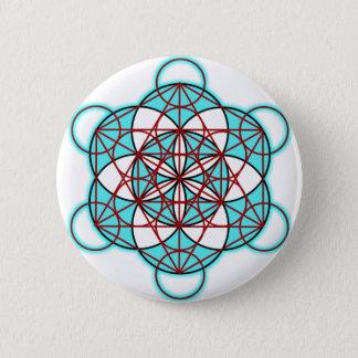 MetatronTGlow 6 Cm Round Badge