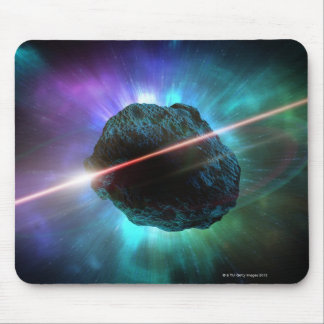 Meteor in Space Mouse Mat