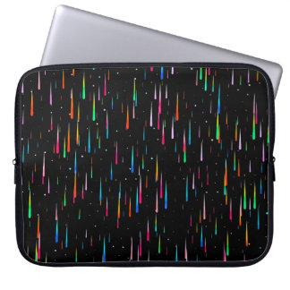 Meteor Rain Laptop Sleeve