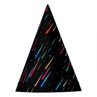 meteor rain party hat
