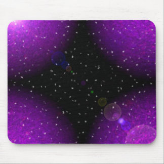 meteor shower mouse pad