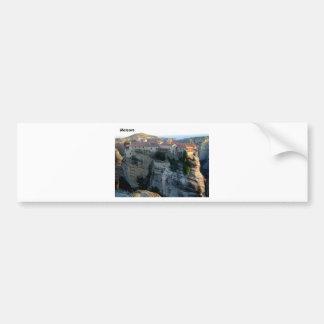 meteora  --greece--541915-.[kan.k] bumper sticker