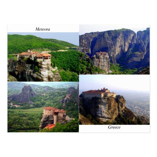 Meteora - Greece Postcard
